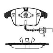 Pastilha freio dianteira originalpart audi a4 1.8 / 2.0 tfsi / 2.7 tdi 07 > 16 a5 1.8 / 2.0 / 2.7 07 > 16