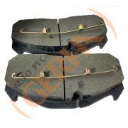 Pastilha freio dianteira syl mb o340, o350 91 > 0404 91 >