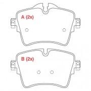 Pastilha freio dianteira WILLTEC bmw 218, 220, 225, x1 2.0t active tourer f45 / f48 15 >