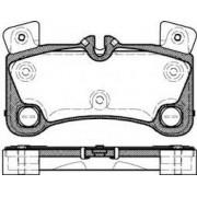Pastilha freio traseira asumi porsche cayenne 09 > ( motor turbo s / 3.0 tdi , 3.6 v6 e 4.5 )