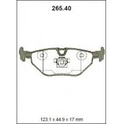 Pastilha freio traseira originalpart bmw 318, 320, 323, z3 98 > 325, 328 98 > 04 z4 (e85) 03 > e46