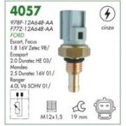 Sensor temperatura cinza (plug eletronico) mte ford, mazda ford escort 1.8 16v 98 > mondeo, ecosport 2.0 duratec 03 > focus 98 > mazda 626 98 > 99