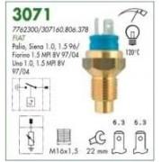 Sensor temperatura duplex mte fiat palio 1.0, 1.5