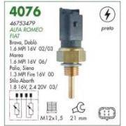 Sensor temperatura (plug eletronico) mte fiat palio, siena 1.3 16v stilo 1.8, 2.4 marea 1.6 06 > doblo 1.6 16v 02 > 03