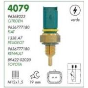 Sensor temperatura verde mte citroen, fiat, peugeot, renault, toyota