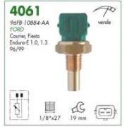 Sensor temperatura verde (plug eletronico) mte ford fiesta, courier 1.0, 1.3 endura 97 >