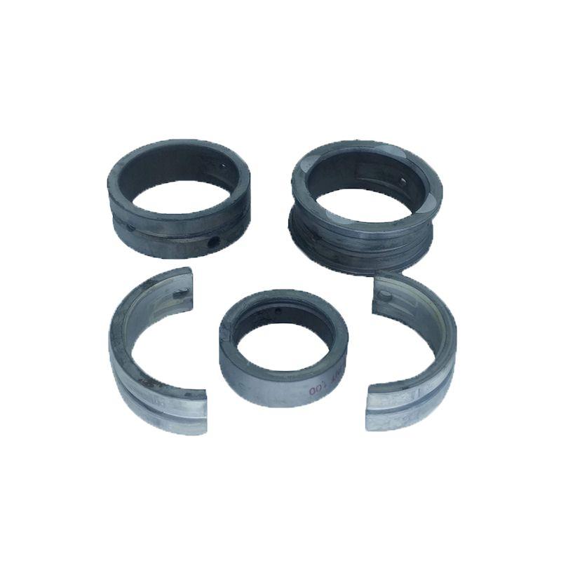Bronzina mancal 100 metal leve vw ar todos fusca, brasilia, kombi externo 075 interno 100 flange 2,00