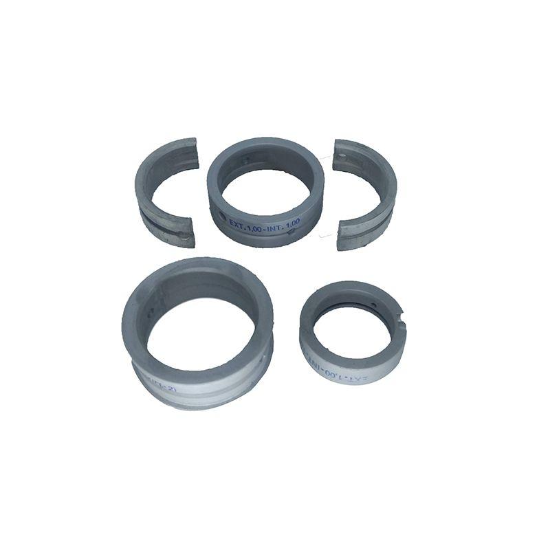 Bronzina mancal 100 metal leve vw ar todos fusca, brasilia, kombi externo 100 interno 100 flange 2,00