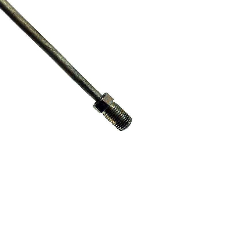 Cano freio reto 1500mm azevedo tubo gm, ford rosca 3/16 f100, f1000 c10, c14, d10