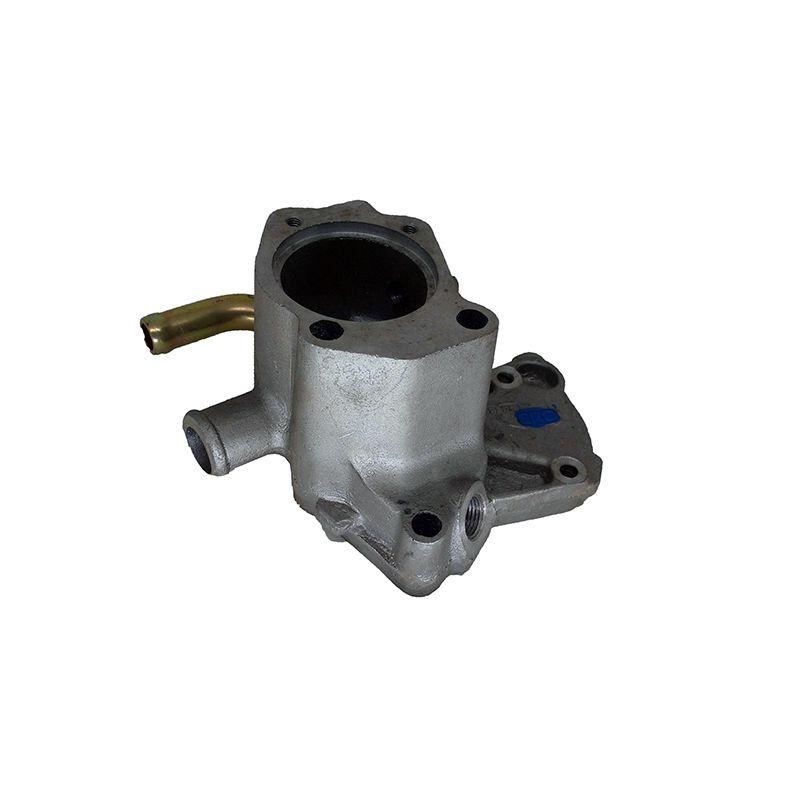 Carcaca valvula termostatica decar fiat uno, premio, fiorino, elba 1.0/1.3/1.5 nac 1 saida c/sensor pequeno