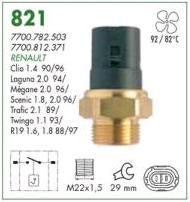 Cebolao radiador mte renault master 2.5 01 > 13 megane 2.0 96 > 03 scenic 1.6 96 > 03 clio 90 > 96 orig. 7700782503