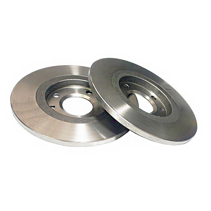 Disco freio traseiro solido fremax peugeot 307 1.6/2.0 01/... c3 1.4/1.6 16v 02/...