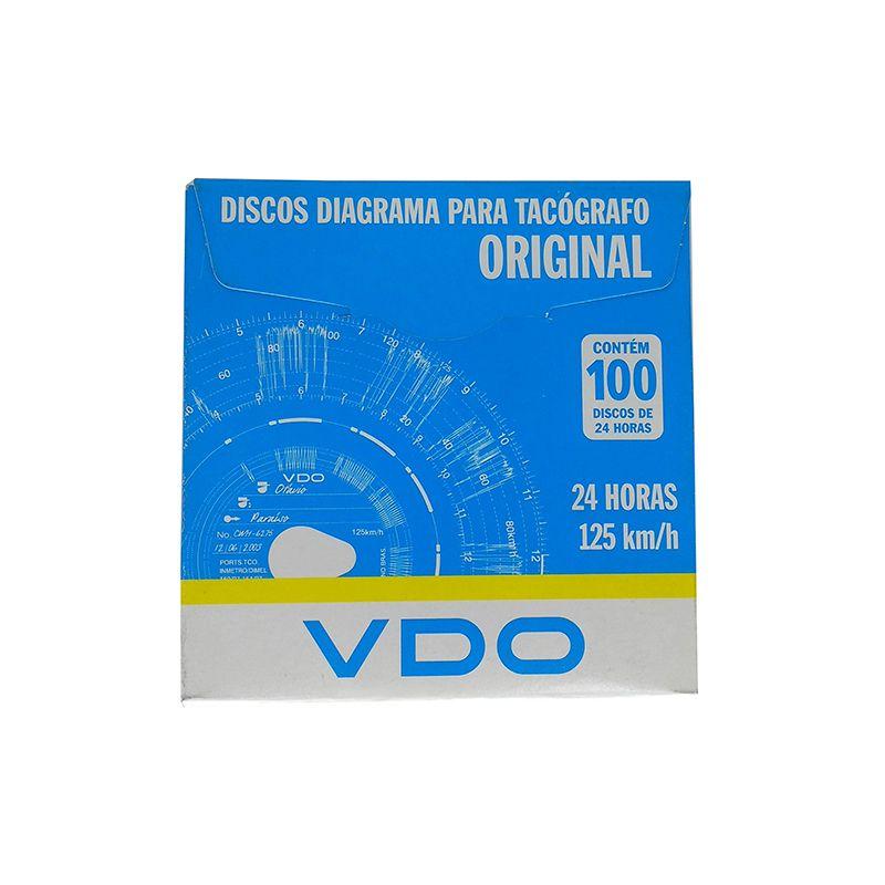 Disco tacografo diario 125 siemens universal disco tacografo diario 125