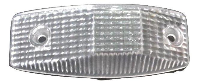 Lente lanterna branca jolema vw caminhao >88 lente para lanterna j3000 e j3001