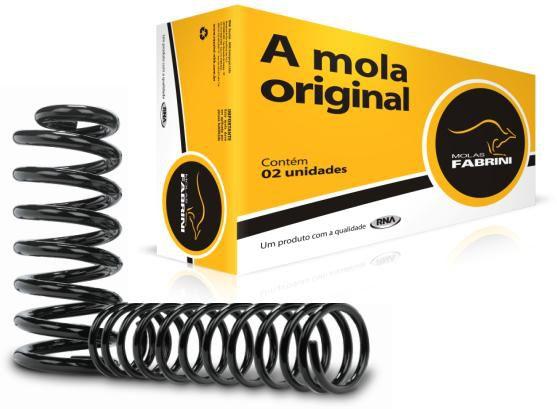 Mola suspensao traseira fabrini ford ka 96 >99 ( motor 1.0, 1.3 )