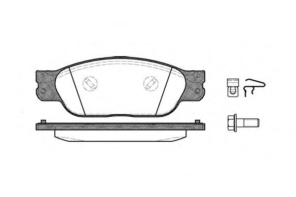 Pastilha freio dianteira asumi jaguar s-type 3.0 v6 / 4.0 v8 08/06 jaguar xj r 4.2 v8 04 >