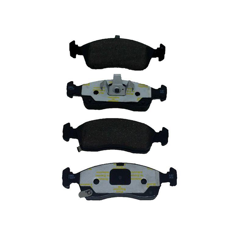 Pastilha freio dianteira cobreq gm cobalt, onix, prisma