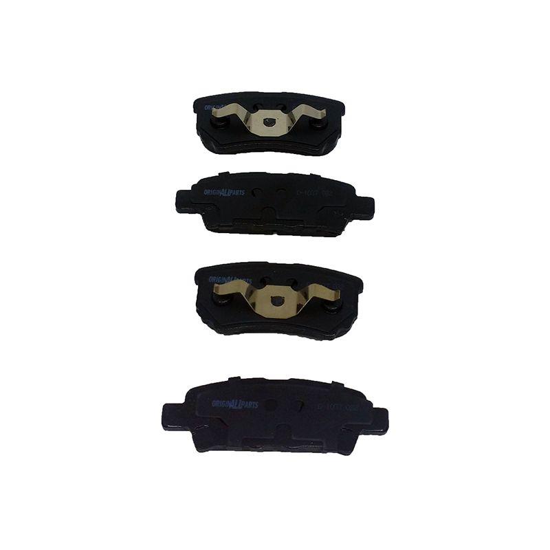 Pastilha freio traseira asumi mitsubishi airtrek 2.4 16v 06 > grandis 2.4 16v 03 > outlander 3.0 v6 08 >
