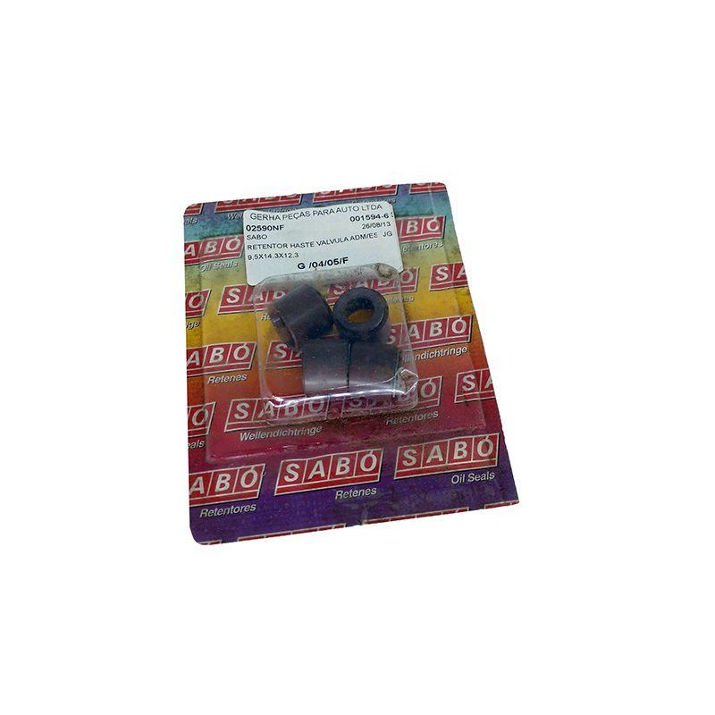 Retentor haste valvula adm/esc sabo 9,5x14,3x12,3 perkins 4236, 4238, q20b maxion s4 s4t