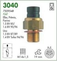 Sensor partida frio mte fiat uno 1.5 87 > 89 turbo 94 > 96 elba premio 1.5, 1.6 85 > 89