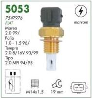 Sensor temperatura ar marron mte fiat palio 96 > ( motor 1.0, 1.5 ) tempra 93 > 99 ( motor 2.0 8v e 16v ) marea 99 > ( motor 2.0 ) tipo 2.0 mpi 94 > 95