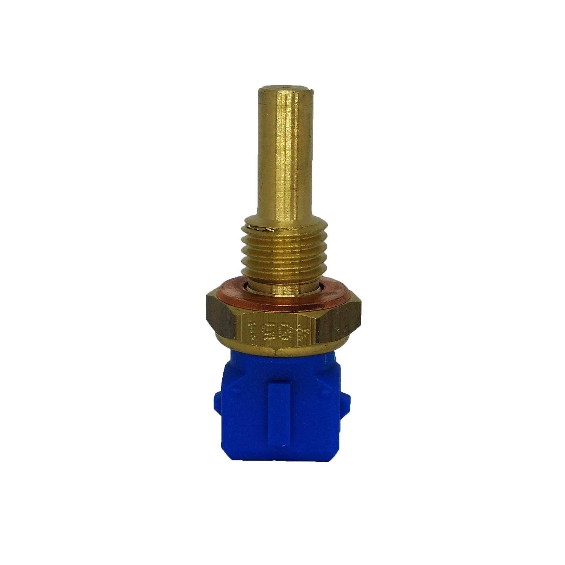 Sensor temperatura azul (plug eletronico) mte gm, fiat astra, corsa, s10, vectra, zafira marea 2.0 uno turbo