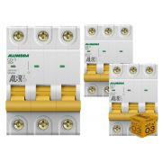 Disjuntor Tripolar 25A 3KA Curva C Alumbra - Kit com 03