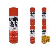 Kit 05 Desengripantes Spray 300ml White Lub Orbi Química