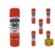 Kit 06 Desengripantes Spray 300ml White Lub Orbi Química
