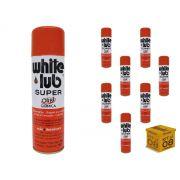 Kit 08 Desengripantes Spray 300ml White Lub Orbi Química