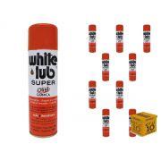 Kit 10 Desengripantes Spray 300ml White Lub Orbi Química