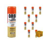 Kit 10 - Limpa Contatos Elétricos 300ml Orbi Química