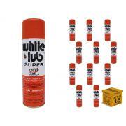 Kit 12 Desengripantes Spray 300ml White Lub Orbi Química