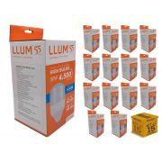 Kit 15 Lampada Led 50W Alta Potencia LLUM Fria Bronzearte