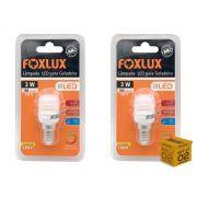 Kit 2 Lâmpada Led Para Geladeira 3w 127V 180 Lumens Foxlux
