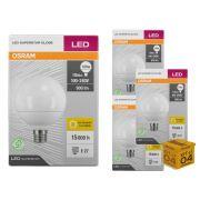 Kit 4 Lâmpada Led Globo 10w 900 lumens Luz Amarela 3000K Osram