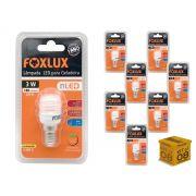 Kit 8 Lâmpada Led Para Geladeira 3w 127V 180 Lumens Foxlux