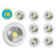 Kit com 08 - Luminária Led Portátil Touch Light Signature 1,5w Avant