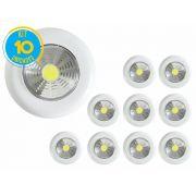 Kit com 10 - Luminária Led Portátil Touch Light Signature 1,5w Avant
