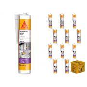 Kit com 12 - Silicone Acético Multiuso Transparente 270ml(265g) SIKA