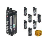 Kit Lâmpada Led Milho 24W 6500K Luz Branca Bivolt Asus 8 Pçs