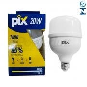 Lâmpada Led Bulbo Luz Fria 20w E27 Pix