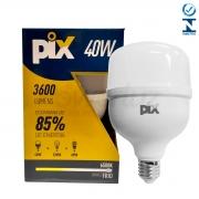 Lâmpada Led Bulbo Luz Fria 40w E27 Pix