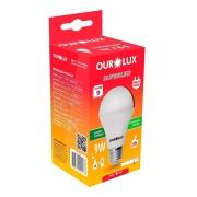 Lâmpada Led Bulbo Luz Fria 9w E27 Ourolux