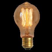 Lâmpada Retrô Filamento de Carbono A19 110V 40W E27 Kian