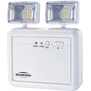 Luminária Emergência Led Farol Plast 1200Lum 40011214 Blumenau