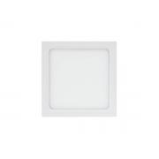 Luminária Painel Plafon Led 24w Embutir Quadrado Branco RG