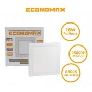 Painel Quadrado Embutir 18w Luz Fria 6500k Economax