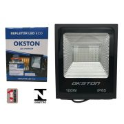 Refletor Led 100W Holofote Luz Branca a Prova D'água Okston