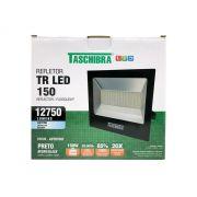 Refletor Led 150W Luz Branca Holofote Bivolt Slim Taschibra